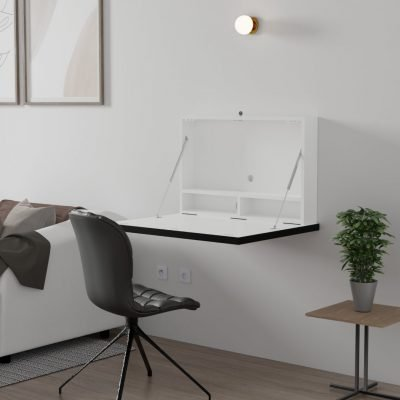Droptop Single Light folding computer desk